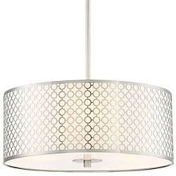 Dots Drum Shade Pendant Light