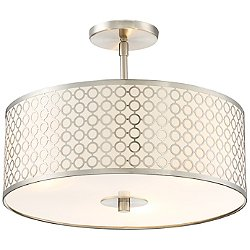 Dots Semi-Flush Mount Ceiling Light
