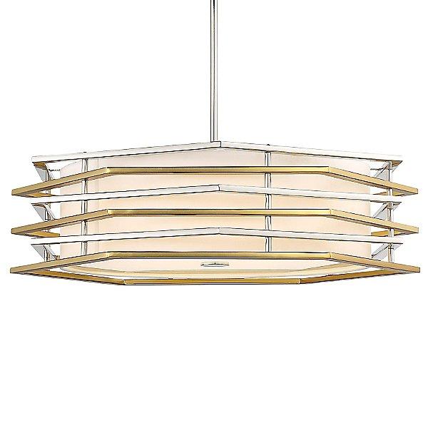 Levels LED Drum Shade Pendant Light