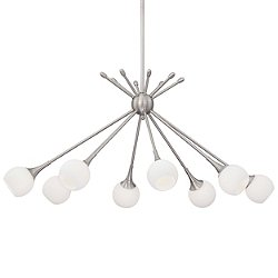 Pontil P1808 8-Light Chandelier