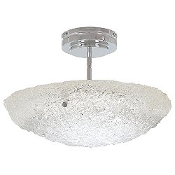Forest Ice LED Pendant / Semi-Flush Mount Ceiling Light