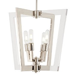 Crystal Chrome P1370 Pendant Light