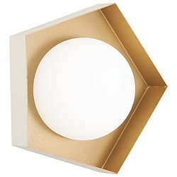 Five-O LED Bathroom Wall Sconce