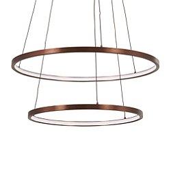 Full Orbit 2-Ring LED Pendant Light