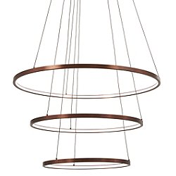 Full Orbit 3-Ring LED Pendant Light