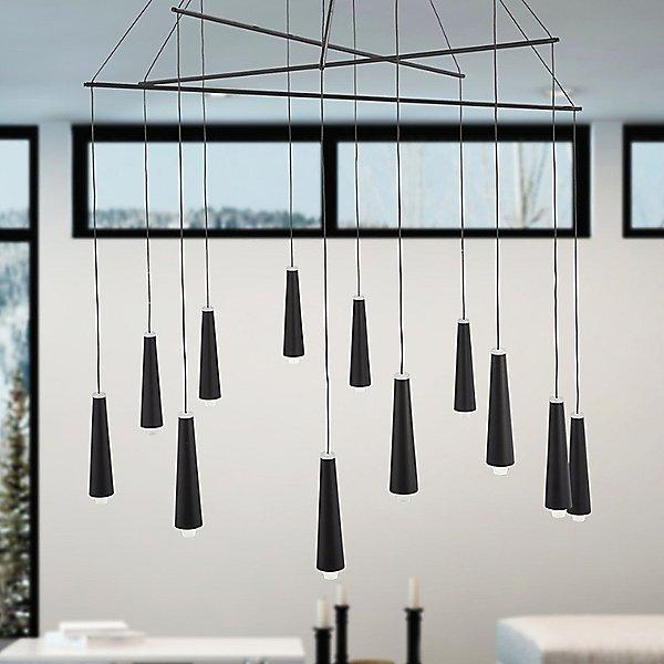 Ganbare LED Chandelier