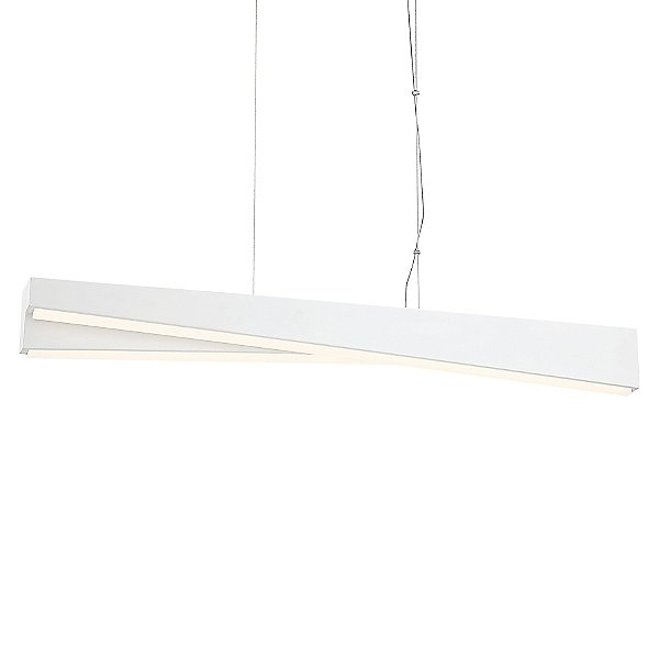 So Inclined LED Linear Suspension Light