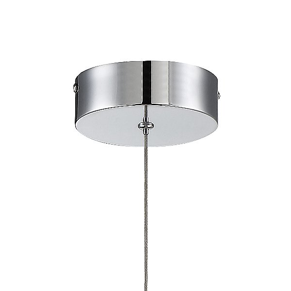 Silver Slice LED Teardrop Mini Pendant Light