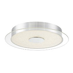 Diamond Dust LED Flush Mount Ceiling Light