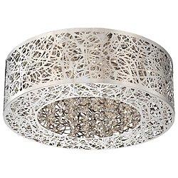 Hidden Gems LED Small Flush Mount Ceiling Light