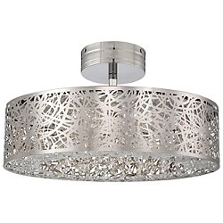 Hidden Gems LED Semi Flush Ceiling Light