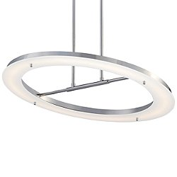 Twist and Shout LED Pendant Light