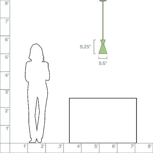 Conic Mini Pendant Light