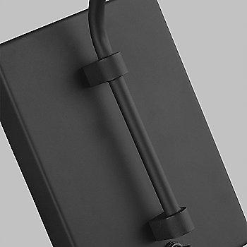 Midnight Black finish, detail