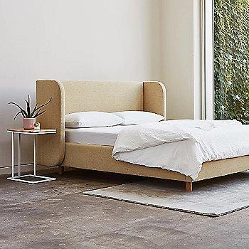 Blonde Ash color, in use in bedroom