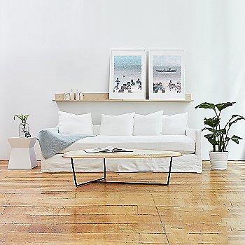 Carmel Sofa with Hull Coffee Table