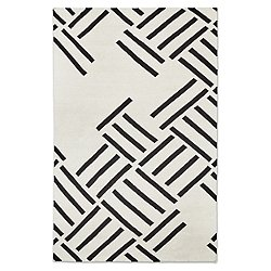 Hatch Rug by Gus Modern (Contrast/5 ftx8 ft)-OPEN BOX RETURN