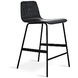 Lecture Stool (Ash Black/Counter Height) - OPEN BOX RETURN