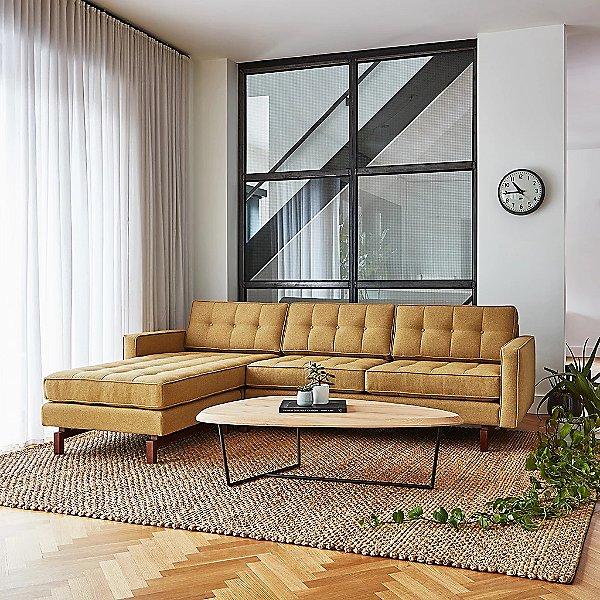 Jane 2 Bi-Sectional Sofa