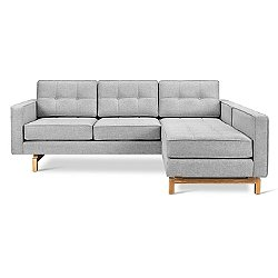 Jane 2 Loft Bi-Sectional Sofa