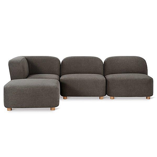 circuit modular 4 piece sectional sofa