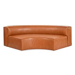 Mix Modular Vegan Leather Arc Sofa