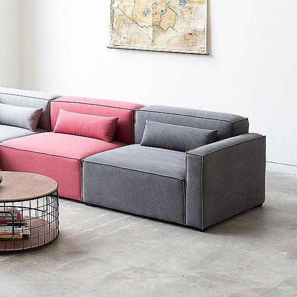 Mix Modular Left Arm Chair