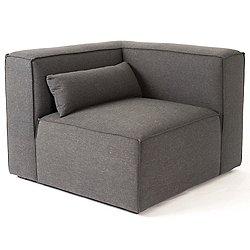 Mix Modular Corner Chair (Berkeley Shield) - OPEN BOX RETURN