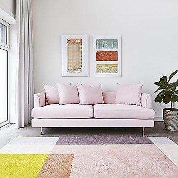 Velvet Blush Fabric color, in use