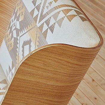 Pendleton Can Desert White and Natural Ash, detail