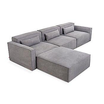 Mix Modular 4 Piece Sectional Sofa