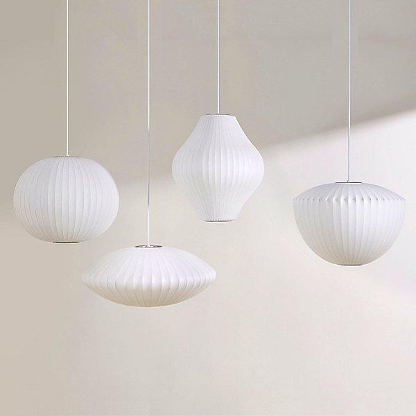 Nelson Saucer Bubble Pendant Light