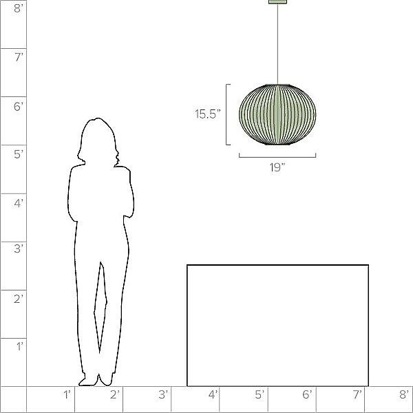 Nelson Ball Bubble Pendant