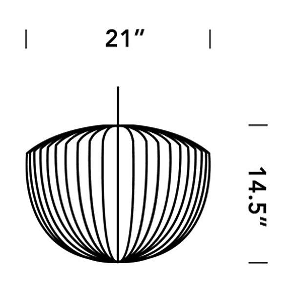 Nelson Apple Bubble Pendant