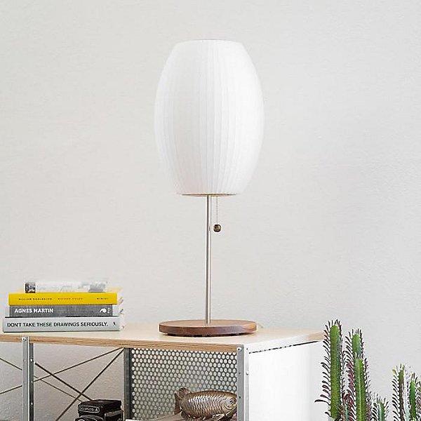 Nelson Cigar Lotus Table Lamp