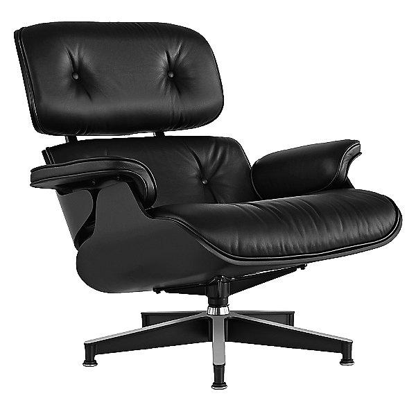 Eames Lounge Chair, Ebony