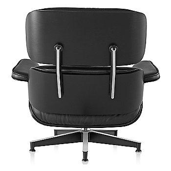 Eames Lounge Chair - Ebony, rear veiw