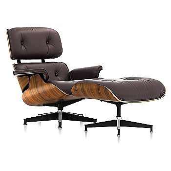 Shown in MCL Leather Espresso, Santos Palisander finish