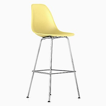 Shown in Pale Yellow with Trivalent Chrome base finish, Counter size
