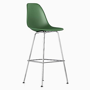 Shown in Kelly Green with Trivalent Chrome base finish, Counter size