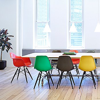 Eames Molded Fiberglass Armchair with Dowel Base collection