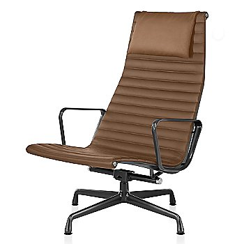 Graphite Satin base finish, 2100 Leather: Copper Material, with Headrest