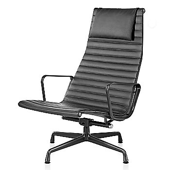Graphite Satin base finish, 2100 Leather: Graphite Material, with Headrest