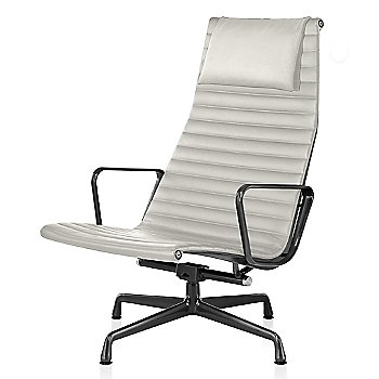 Graphite Satin base finish, 2100 Leather: Ivory Material, with Headrest
