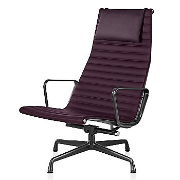 Graphite Satin base finish, Messenger: Cassis Material, with Headrest