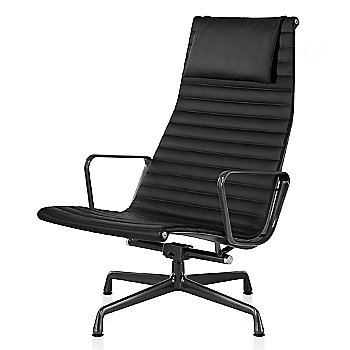Graphite Satin base finish, Messenger: Onyx Material, with Headrest