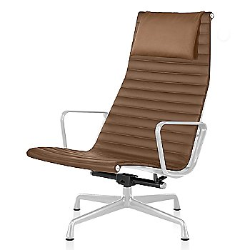 White base finish, 2100 Leather: Copper Material, with Headrest