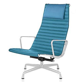 White base finish, Messenger: Azure Material, with Headrest
