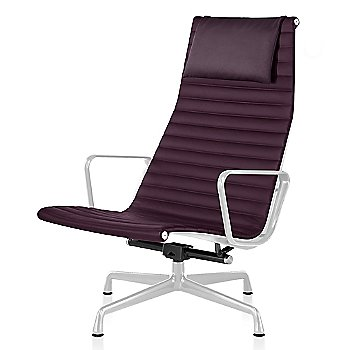 White base finish, Messenger: Cassis Material, with Headrest
