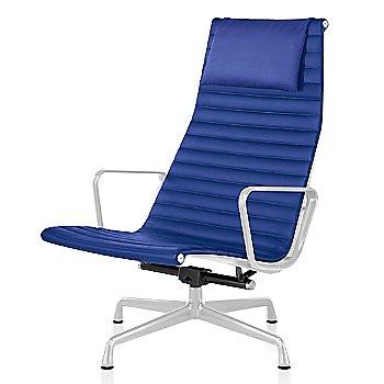 White base finish, Messenger: Ultramarine Material, with Headrest